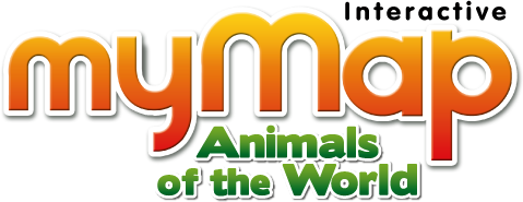 Mymap animals zanzoon an interactive talking map to learn all about the animals of the world gumiabroncs Image collections