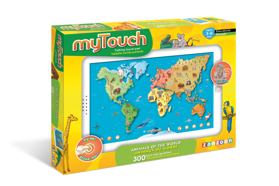 Mytouch zanzoon a map of the world to learn about geography and all about animals gumiabroncs Image collections