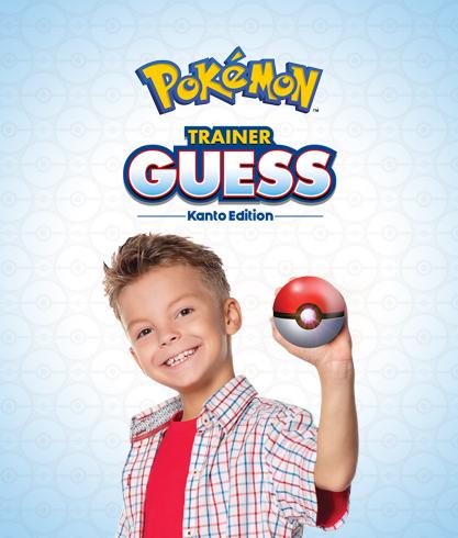 Pokémon Trainer Guess - Kanto Edition